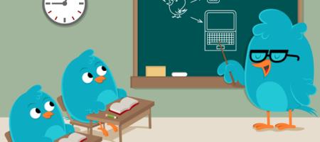 twitter teaching